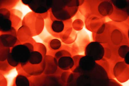 blutzellen: Rote Blutk�rperchen. Computer generierte Bild.