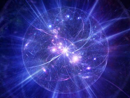 the universe: Resumen del modelo de Big Bang en el espacio exterior.
