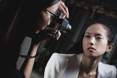 Young japan women fashion shooting  photo