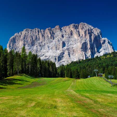 non urban 1: High mountain in Dolomites Italy