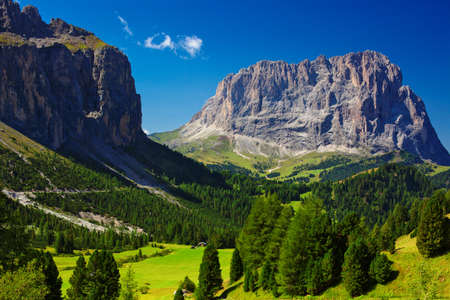 non urban: High mountains in Dolomites Italy  Stock Photo