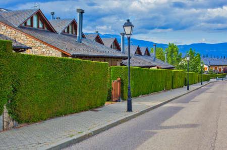 clean street: Clean street in Europe town