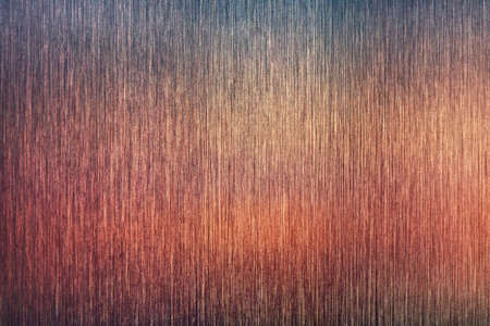 textured: Rough metal background with blue and red reflection.