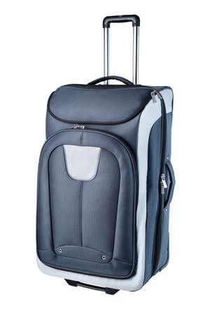 travel bag: Big travel bag isolated on white