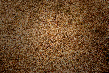 Gravel Wall Texture Stock Photo