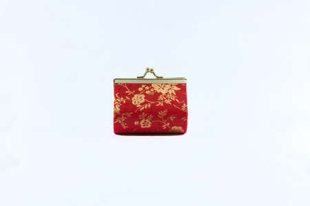 Red chinese bag photo