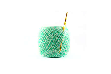 thread  on white background Stock Photo