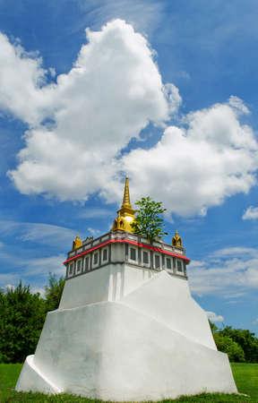 simulate: Simulate Pagoda in Bangkok, Thailand