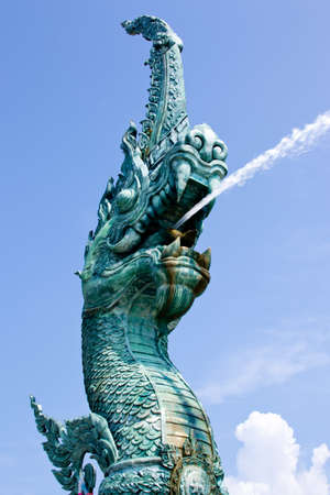naka statue of Thailand photo