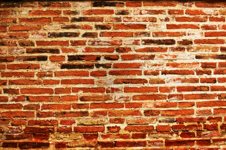 Background-of-brick-wall-texture- Stock Photo