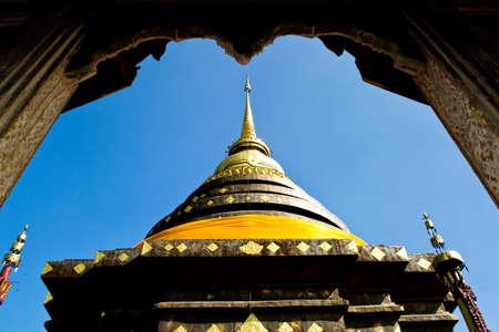 Wat Prathat Lampang Luang Stock Photo