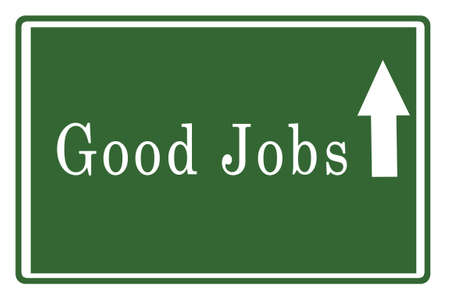 GoodsJobs on Highway Board Stock Photo - 17475142