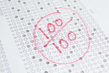 Exam Test , 100 Score