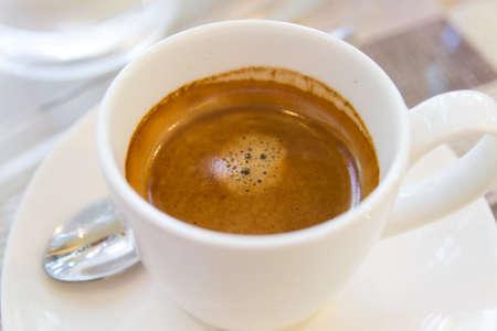 Espresso coffee cup Stock Photo - 19161348