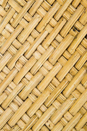 basket weaving: Abstract decorative wooden striped textured basket weaving background Stock Photo