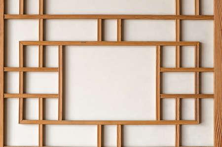 韓国の伝統的な紙の壁