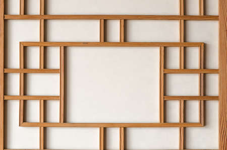 korean traditional paper wall Stock Photo