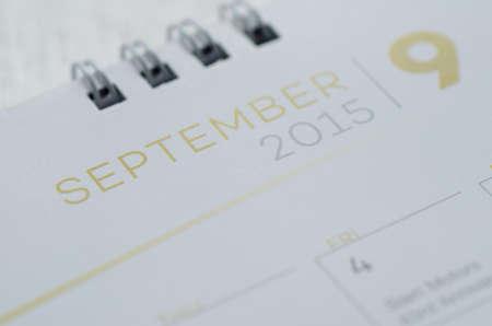 Wall Calendar September