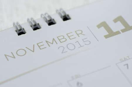 Wall Calendar November