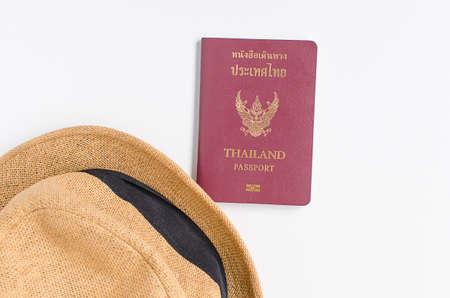 Thailand Passport , brown hat