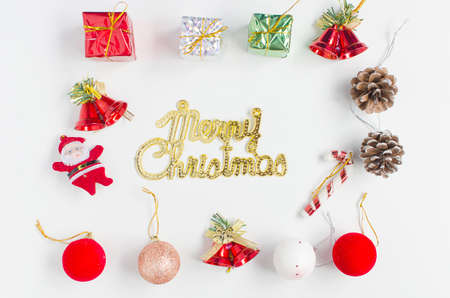Christmas collection, gifts and decorative ornament