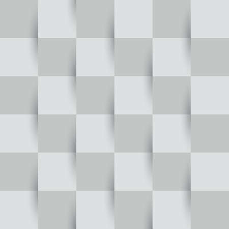 Seamless abstract grey geometric pattern with rhombus on ash background. Illustration