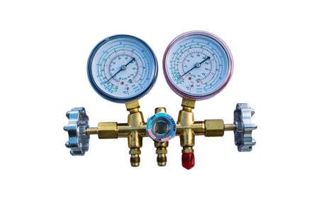 Coolant gauges Stock Photo