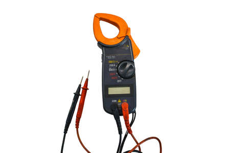 metro de medir: Multimeter measuring devices electric tool of technician