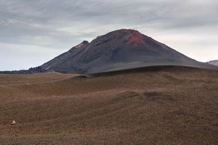 timanfaya natural park: Volcano and lava desert, Lanzarote, Canary islands