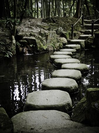 stona path in zen temple Stock Photo - 9277774