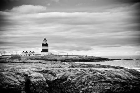 hook head lighthouse, county wexford, ireland photo