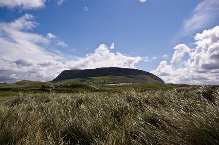 knocknarea mountain from standhill beach, county Sligo, Ireland Stock Photo - 9407882