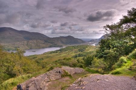 Killarney National Park from Ladys View, County Kerry, Ireland