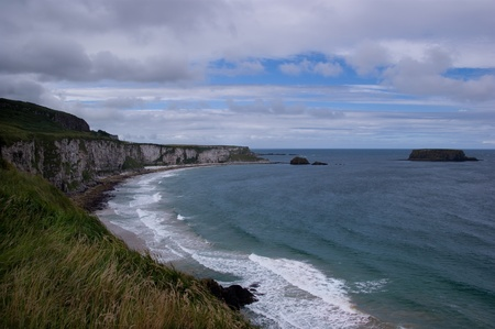 irish coast panorama Stock Photo - 9510798