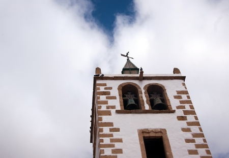 betancuria bell tower, lanzarote, canary islands
