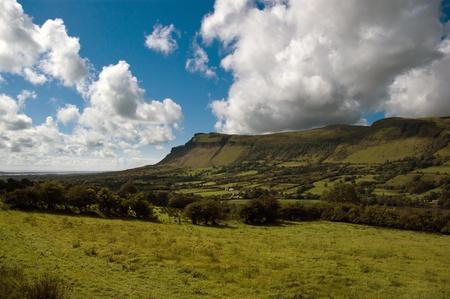 Benbulben mountain, county sligo, ireland Stock Photo