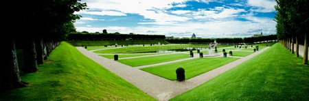 ornamental garden in Villandry, Loire Valley, France Stock Photo - 10425062
