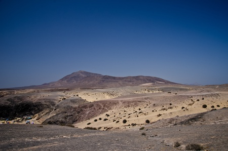 landscape in los ajaches, canary islands, Lanzarote, Spain Stock Photo - 21700849