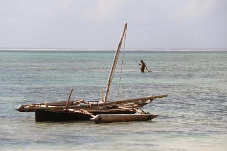 boat in Zanzibar photo