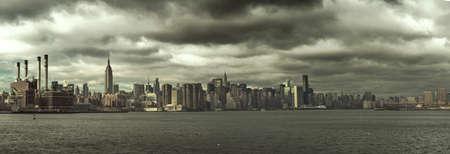 ミッドタウン ニューヨーク パノラマ 写真素材