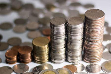 uk money: coins thai