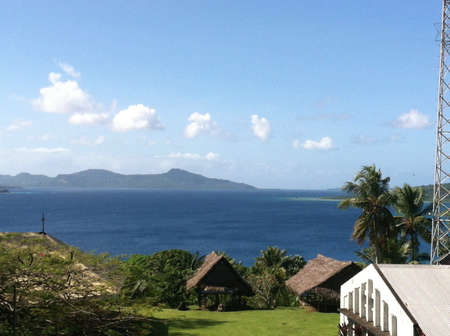 micronesia: The coast of micronesia