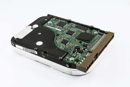 harddisk: Harddisk drive, close up image of device Stock Photo