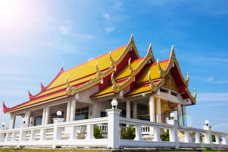 arts culture and entertainment: Temple in thailand.