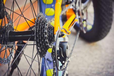 Bicycle gears, disc brake