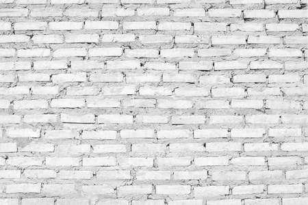 rupture: White brick wall background.