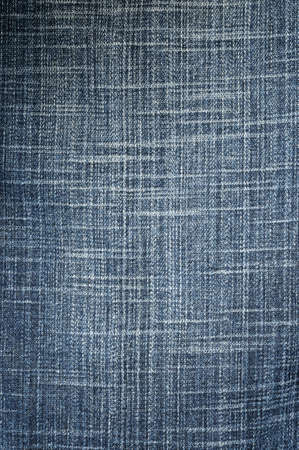 Textured striped black jeans denim linen fabric background