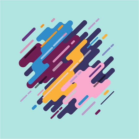 smooth background: Abstract illustration Is modern Can be used as a background   wallpaper or decorate in print.