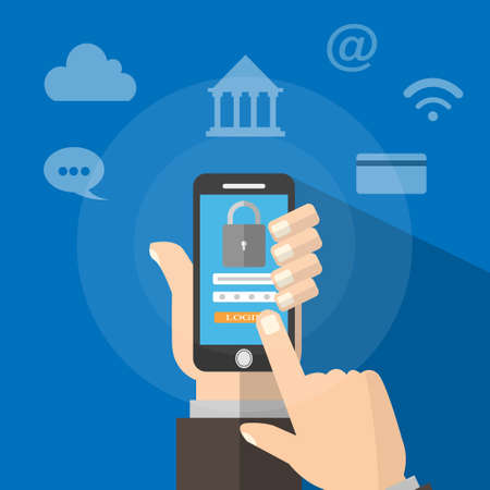 Mobile encryption Must go through the security system There are devices that need to be encrypted through such as bank encryption.