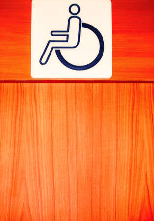disable people sign photo